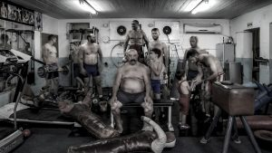 Beginning of a session in a fitness class